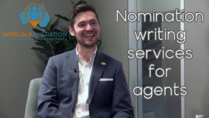 Nomination Writing Services interview