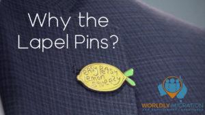 lapel pins interview